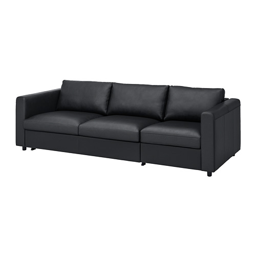 VIMLE - 3-seat sofa-bed, Grann/Bomstad black | IKEA Hong Kong and Macau - PE773983_S4