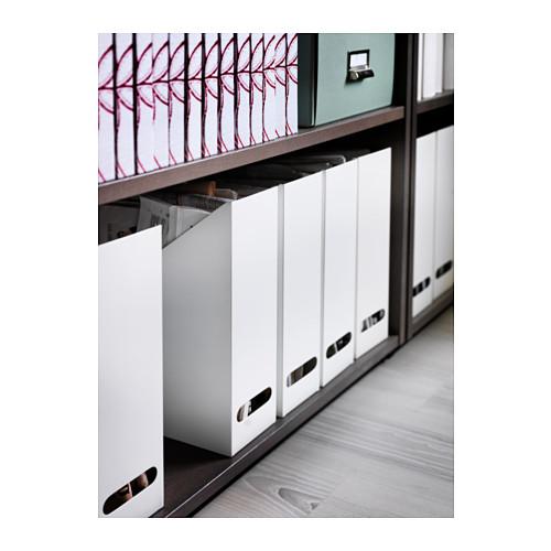 KVISSLE - magazine file set of 2, white | IKEA Hong Kong and Macau - PE383261_S4