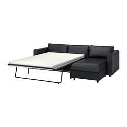 VIMLE - 三座位梳化床, 連躺椅/Grann/Bomstad 黑色 | IKEA 香港及澳門 - PE774024_S3