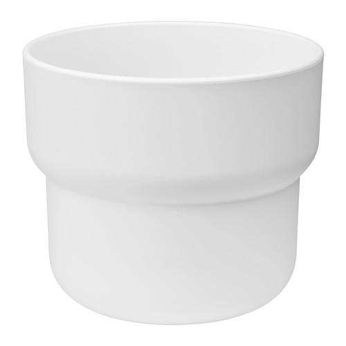 FÖRENLIG - plant pot, in/outdoor white | IKEA Hong Kong and Macau - PE774232_S4