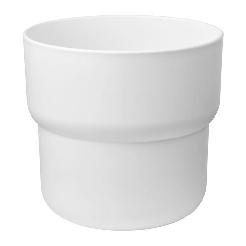 FÖRENLIG - 花盆, 室內/戶外用 白色   IKEA 香港及澳門 - PE774235_S4