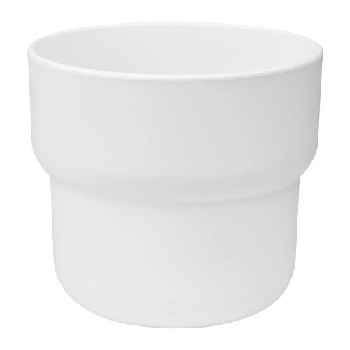 FÖRENLIG - plant pot, in/outdoor white | IKEA Hong Kong and Macau - PE774238_S4