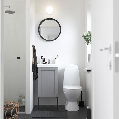 TVÄLLEN/ENHET - 單門洗手盆櫃, grey frame/grey Lillsvan tap   IKEA 香港及澳門 - PE785799_S4