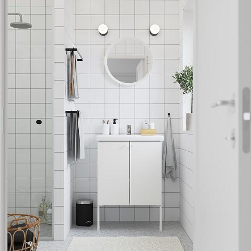 TVÄLLEN/ENHET - 雙門洗手盆櫃, 白色/PILKÅN水龍頭   IKEA 香港及澳門 - PE785771_S4