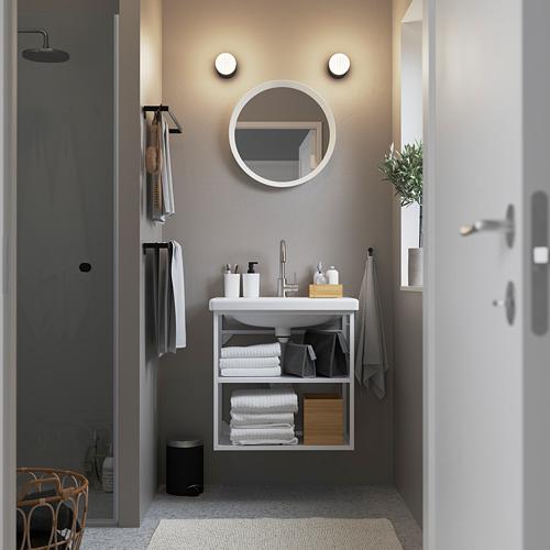 TVÄLLEN/ENHET - open wash-stand with 2 shelves, white/Glypen tap | IKEA 香港及澳門 - PE785871_S4