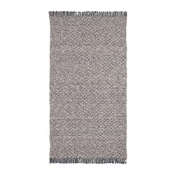 RÖRKÄR - rug, flatwoven, black/natural | IKEA Hong Kong and Macau - PE688119_S3