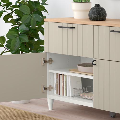 BESTÅ - 貯物組合連門/抽屜, 白色/Sutterviken/Kabbarp 灰米黃色 | IKEA 香港及澳門 - PE785901_S4