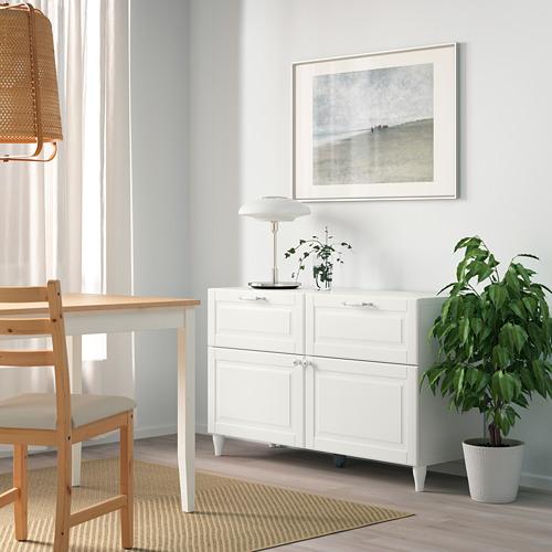 BESTÅ - storage combination w doors/drawers, white/Smeviken/Kabbarp white | IKEA Hong Kong and Macau - PE785896_S4