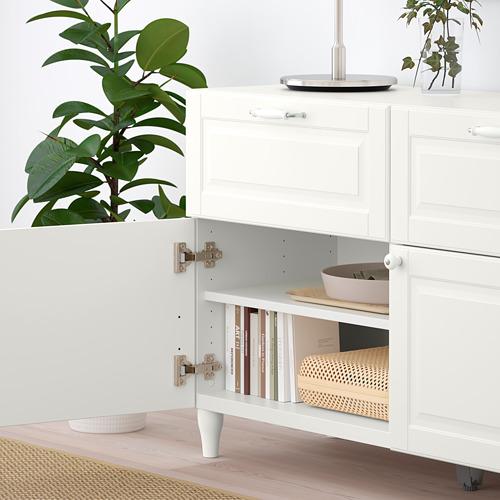 BESTÅ - storage combination w doors/drawers, white/Smeviken/Kabbarp white | IKEA Hong Kong and Macau - PE785897_S4