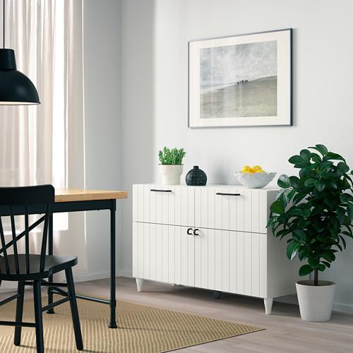 BESTÅ - 貯物組合連門/抽屜, white/Sutterviken/Kabbarp white | IKEA 香港及澳門 - PE785899_S4