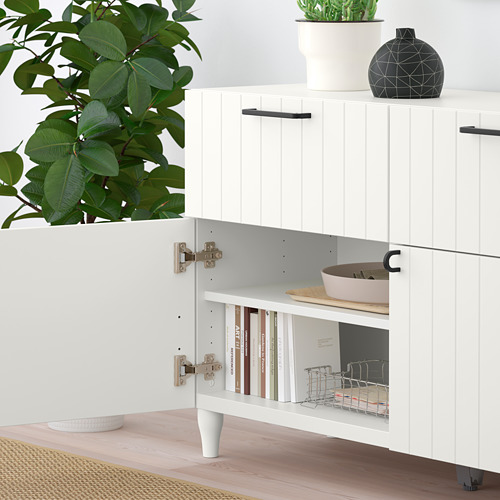BESTÅ - 貯物組合連門/抽屜, white/Sutterviken/Kabbarp white | IKEA 香港及澳門 - PE785900_S4