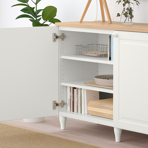 BESTÅ - 貯物組合連門, 白色/Smeviken/Kabbarp 白色 | IKEA 香港及澳門 - PE785909_S4