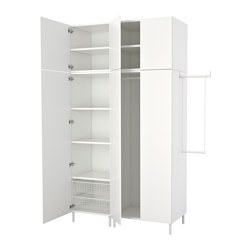 PLATSA - wardrobe, white/Fonnes white | IKEA Hong Kong and Macau - PE640754_S3