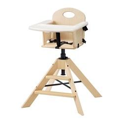 GRÅVAL - 兒童椅/高腳椅連托盤, 樺木 | IKEA 香港及澳門 - PE774135_S3