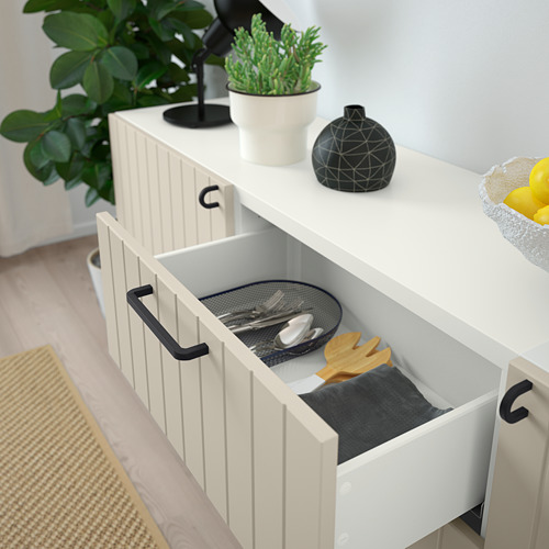 BESTÅ - 貯物組合連抽屜, white/Sutterviken/Kabbarp grey-beige | IKEA 香港及澳門 - PE785937_S4