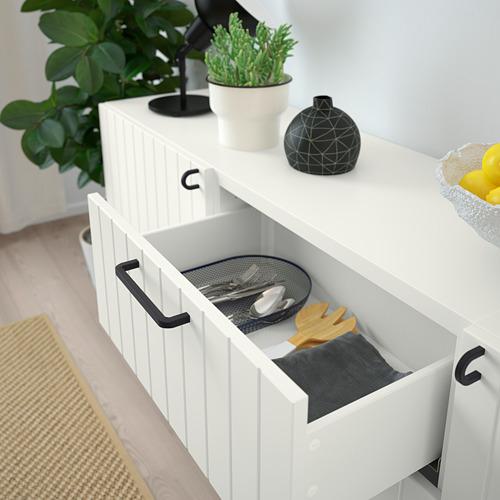 BESTÅ - storage combination with drawers, white/Sutterviken/Kabbarp white | IKEA Hong Kong and Macau - PE785933_S4