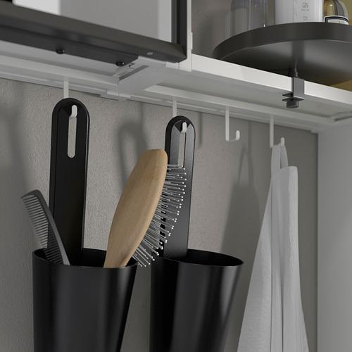 TVÄLLEN/ENHET - bathroom furniture, set of 18, oak effect/white Brogrund tap | IKEA Hong Kong and Macau - PE785978_S4