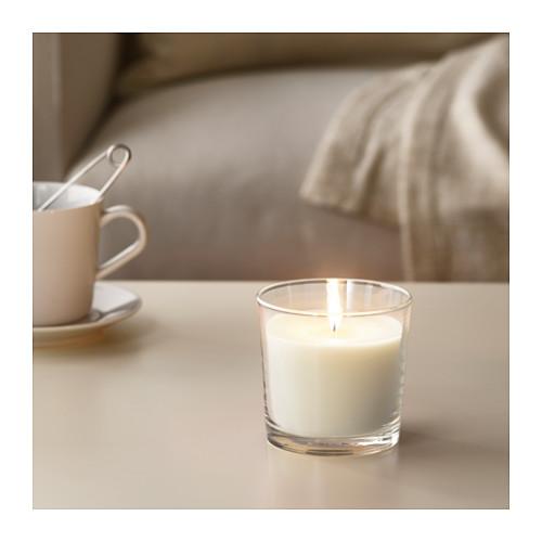SINNLIG - 杯裝香味蠟燭, 雲呢嗱/原色 | IKEA 香港及澳門 - PE640820_S4