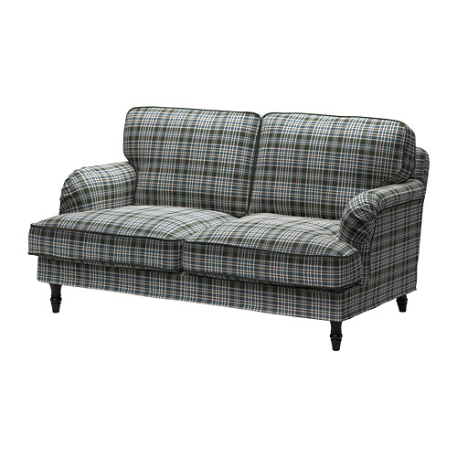 STOCKSUND - 2-seat sofa, Segersta multicolour/black/wood | IKEA Hong Kong and Macau - PE688223_S4