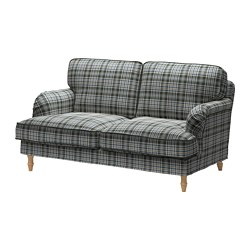 STOCKSUND - 2-seat sofa, Segersta multicolour/light brown/wood | IKEA Hong Kong and Macau - PE688227_S3