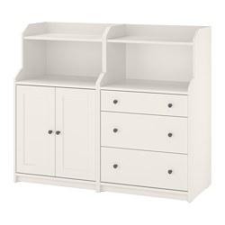 HAUGA - 貯物組合, 白色 | IKEA 香港及澳門 - PE785991_S3