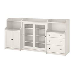 HAUGA - storage combination, white | IKEA Hong Kong and Macau - PE786001_S3