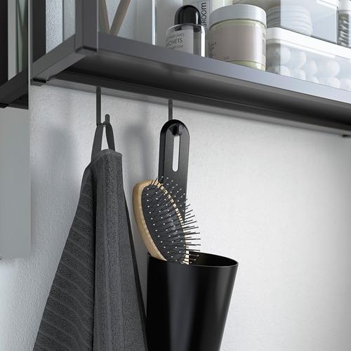 TVÄLLEN/ENHET - bathroom furniture, set of 11, white/anthracite Pilkån tap | IKEA Hong Kong and Macau - PE786014_S4