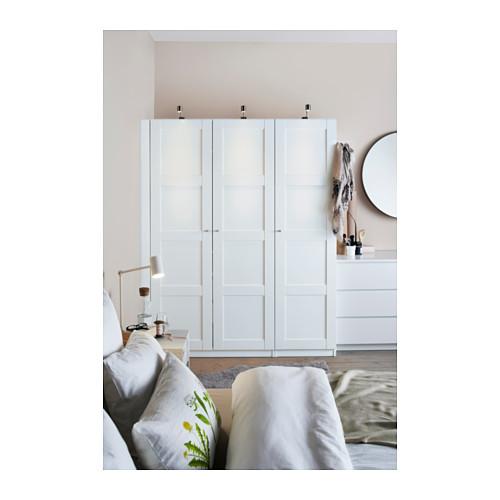 PAX - 衣櫃, 白色/Bergsbo 白色 | IKEA 香港及澳門 - PH127347_S4