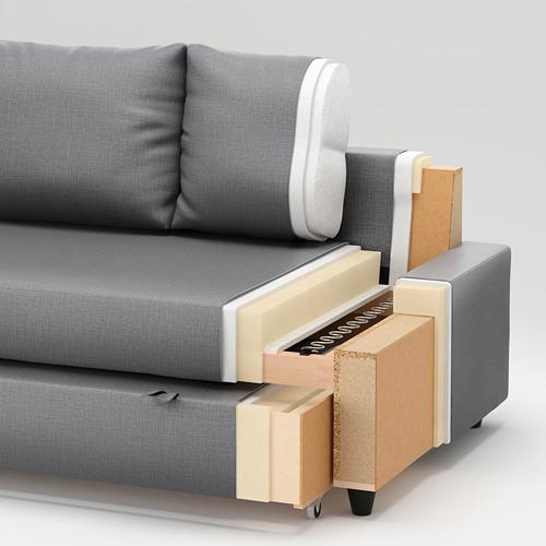 FRIHETEN - corner sofa-bed with storage, Skiftebo dark grey | IKEA Hong Kong and Macau - PE731383_S4