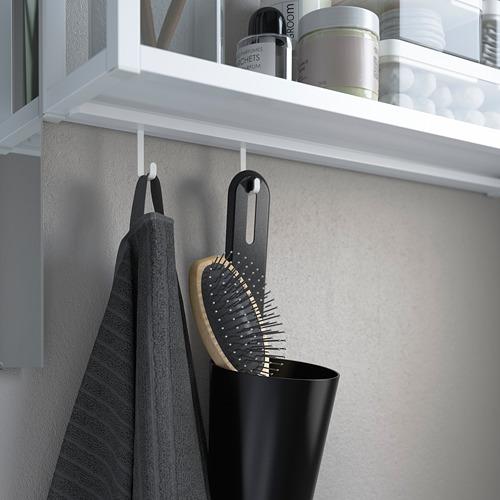 TVÄLLEN/ENHET - bathroom furniture, set of 10, concrete effect/white Pilkån tap | IKEA Hong Kong and Macau - PE786015_S4