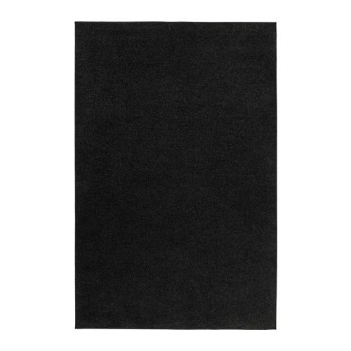 SPORUP - rug, low pile, black | IKEA Hong Kong and Macau - PE786126_S4