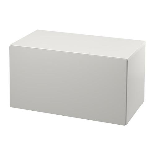 SMÅSTAD bench with toy storage