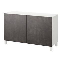 BESTÅ - 貯物組合連門, 白色 Kallviken/深灰色 仿混凝土 | IKEA 香港及澳門 - PE640918_S3