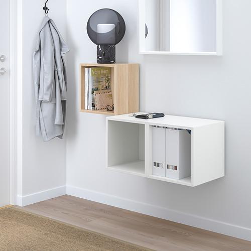 EKET - 上牆式貯物組合, 染白橡木紋/白色 | IKEA 香港及澳門 - PE731500_S4