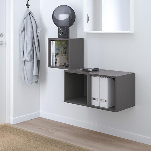 EKET - 上牆式貯物組合, 深灰色 | IKEA 香港及澳門 - PE731497_S4