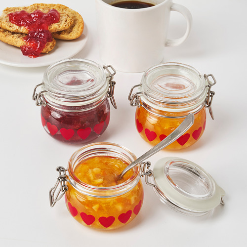 VINTER 2020 jar with lid
