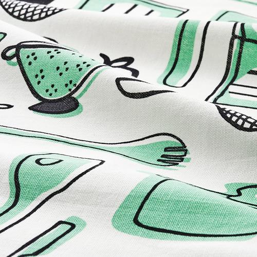 RINNIG - 抹布, 白色/綠色/圖案 | IKEA 香港及澳門 - PE786444_S4