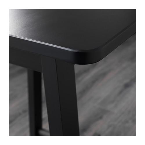 NORRARYD/NORRÅKER - bar table and 2 bar stools, black/black | IKEA Hong Kong and Macau - PE640957_S4