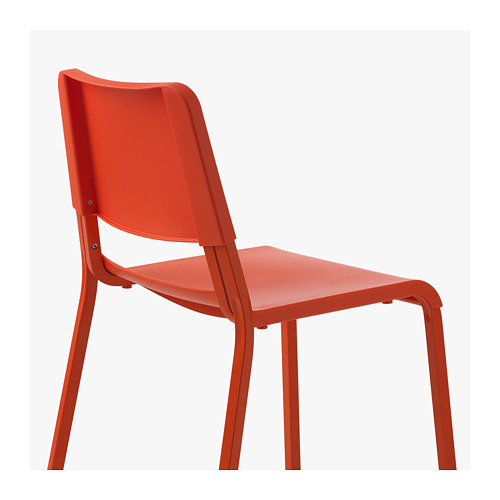 Teodores Chair Bright Orange Ikea Hong Kong