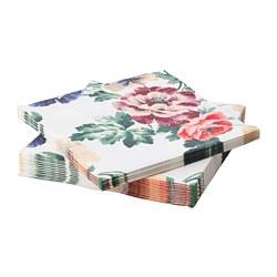 SMAKSINNE - 餐紙巾, 彩色/花 | IKEA 香港及澳門 - PE688448_S3