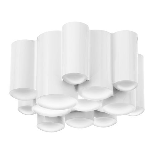 SÖDERSVIK - LED ceiling lamp, glossy white | IKEA Hong Kong and Macau - PE731515_S4