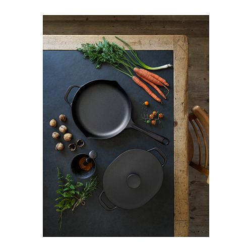 VARDAGEN - casserole with lid, cast iron | IKEA Hong Kong and Macau - PH167616_S4