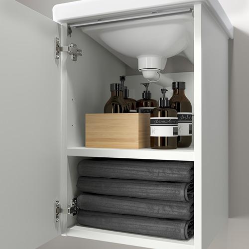 TVÄLLEN/ENHET - 單門洗手盆櫃, 白色/PILKÅN水龍頭 | IKEA 香港及澳門 - PE786197_S4