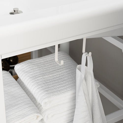 TVÄLLEN/ENHET - 浴室貯物組合 9件裝, white/Glypen tap | IKEA 香港及澳門 - PE786228_S4