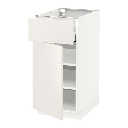 METOD/MAXIMERA - base cabinet with drawer/door, white/Veddinge white | IKEA Hong Kong and Macau - PE515147_S4