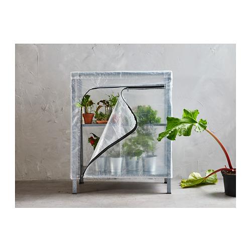 HYLLIS - 層架連遮布, 透明 | IKEA 香港及澳門 - PH157465_S4