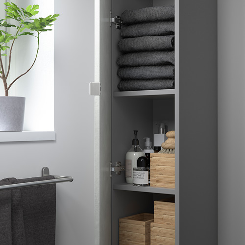 ENHET - 高櫃連4層板/門, 灰色/仿混凝土 | IKEA 香港及澳門 - PE786257_S4