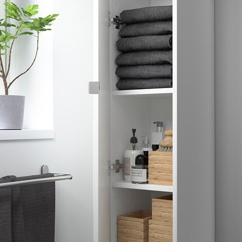 ENHET - 高櫃連4層板/門, 白色 | IKEA 香港及澳門 - PE786263_S4