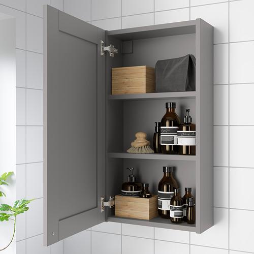 ENHET - 單門鏡櫃, 灰色/灰色 框架 | IKEA 香港及澳門 - PE786270_S4
