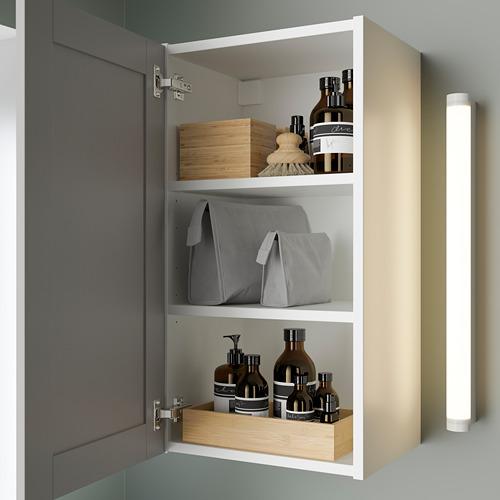 ENHET - 單門鏡櫃, 白色/灰色 框架   IKEA 香港及澳門 - PE786281_S4